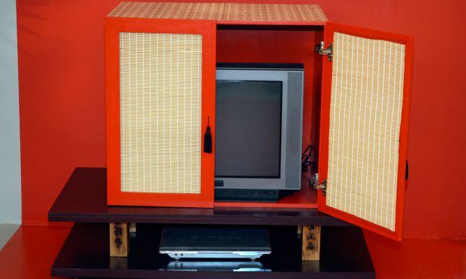 Hacer y decorar un mueble chino para la televisi n - Como hacer un mueble para tv ...