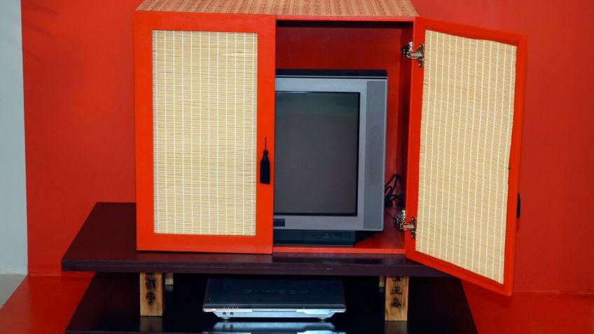 Hacer y decorar un mueble chino para la televisión - Decogarden
