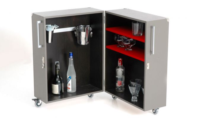 Maleta mini bar decogarden - Mueble minibar ...