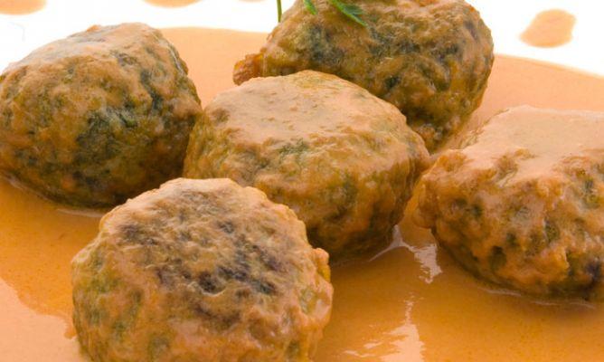 Receta de alb ndigas de espinaca con arroz karlos argui ano for Albondigas de verduras