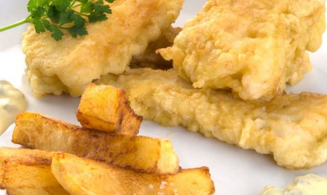 Receta de fish and chips karlos argui ano for Wave fish and chips