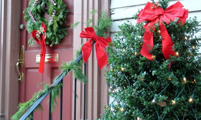 Adornos navide os para el exterior hogarmania - Arreglos navidenos para la casa ...
