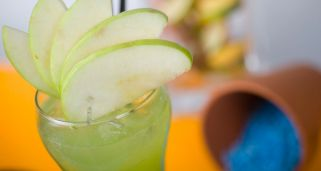 C�ctel Apple not geiser (con alcohol)