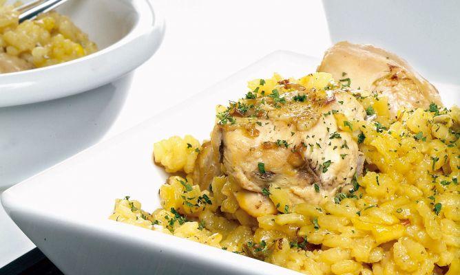 Receta de Arroz con pollo - Karlos Arguiñano