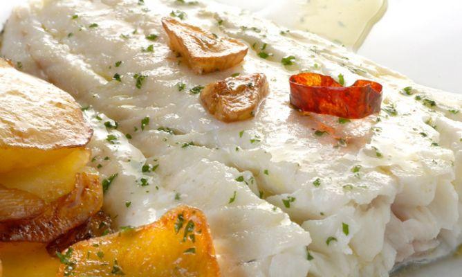 Receta de bacalao al horno con refrito karlos argui ano - Recetas de bogavante al horno ...