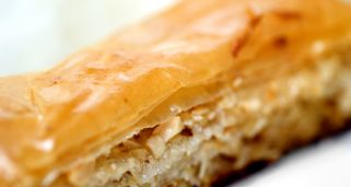 Baklava con frutos secos
