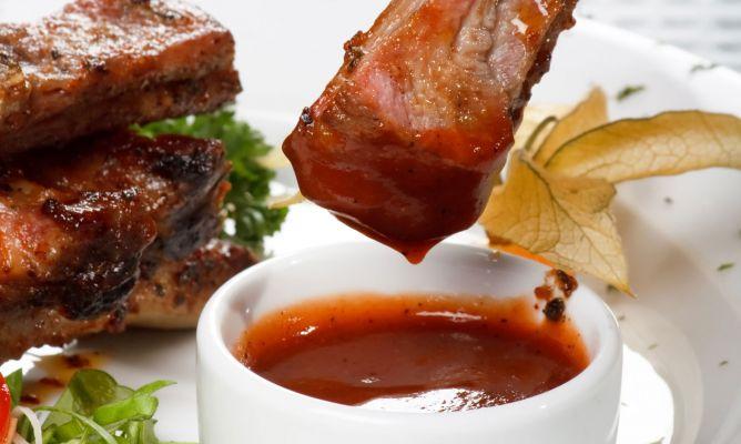 Receta de salsa barbacoa karlos argui ano for Salsa barbacoa ingredientes