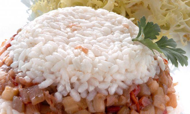 Receta de berenjenas confitadas con arroz blanco karlos - Comidas con arroz blanco ...