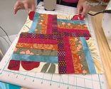 Bloque 1 colcha patchwork