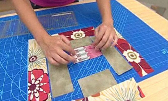 Quilt o colcha de patchwork Bloque 6 Hogarmania