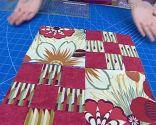 Bloque 4 colcha patchwork