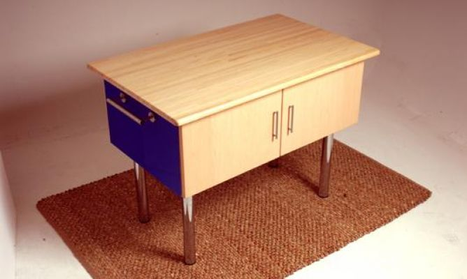 Mueble auxiliar para la cocina o isleta bricoman a for Muebles bricomania