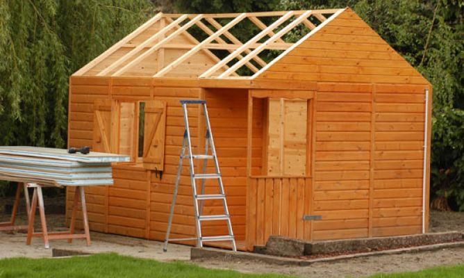 Paneles s ndwich aislantes bricoman a - Hacer caseta de madera ...