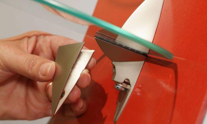 Enmarcar baldas de cristal bricoman a - Baldas de cristal ...