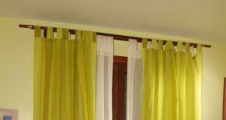 Crear cortinas con cinta de ollaos bricoman a - Como poner unas cortinas ...