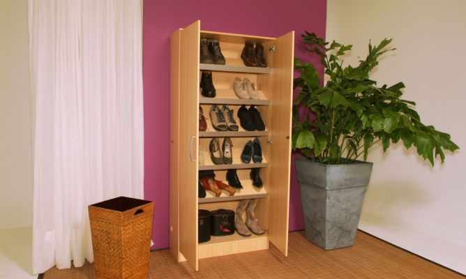 Convertir un armario ropero en un armario zapatero for Disenos de zapateros en madera