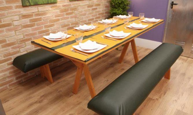Como hacer una mesa de comedor casa dise o - Como hacer una mesa de comedor ...