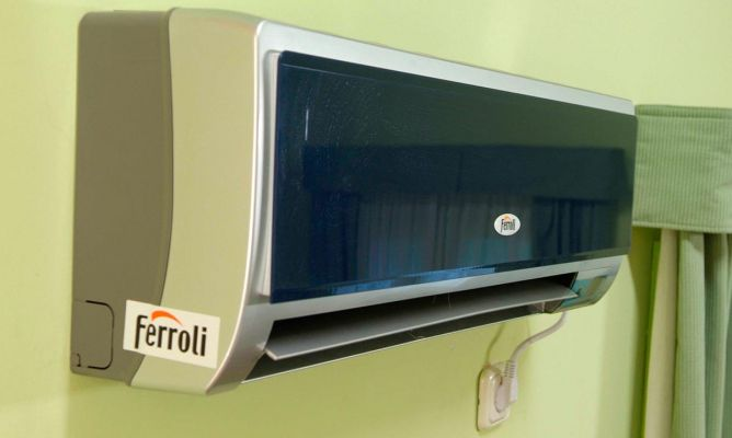Instalaci n de aire acondicionado bricoman a for Aire acondicionado aparato exterior