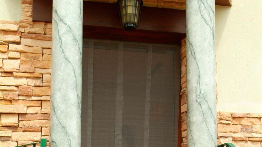Cortina para puerta cortina mosquitera para puerta - Como hacer una puerta mosquitera abatible ...