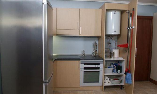 Armario de cocina multiusos bricoman a - Armario pared cocina ...