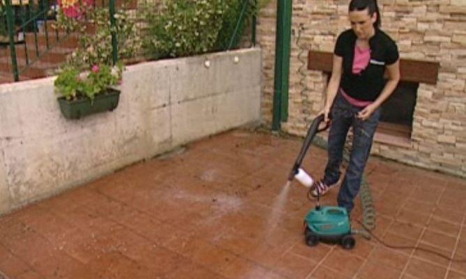 Limpiar la terraza con limpiadora a presi n bricoman a - Limpieza en casas ...