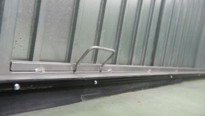 burlete de caucho en puerta de garaje