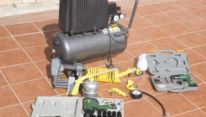 Acoplamientos r pidos en compresor bricoman a for Compresor de aire bricodepot