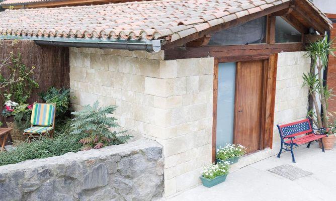 Revestimiento r stico de fachada bricoman a - Revestimiento de fachada ...