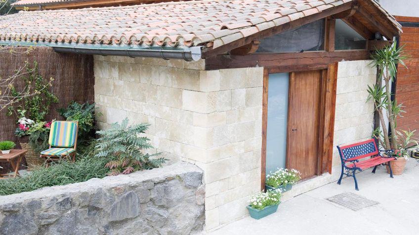 rstico de fachada with revestir paredes exteriores