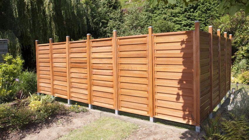 Vallas de jardin valla pvc modelo anna valla de jardin a - Valla madera jardin ...