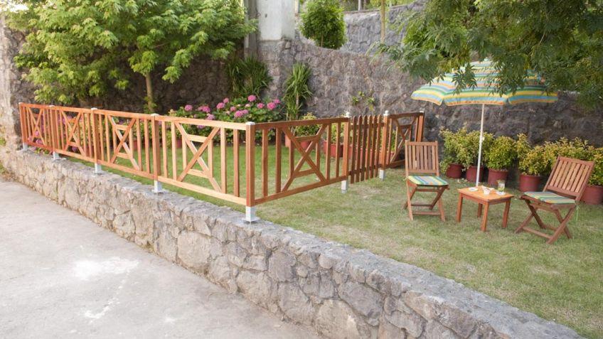 cerramiento de madera - Cerramientos Jardin