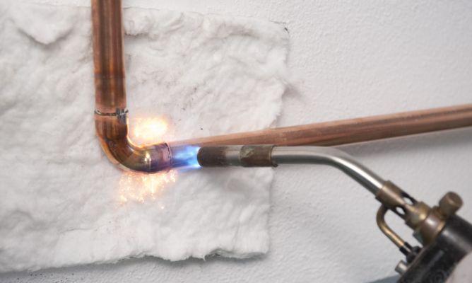 Soldar tuber as de cobre bricoman a for Como soldar cobre