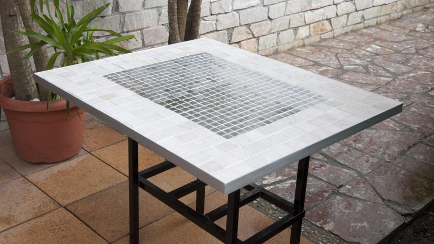 Revestimiento cerámico para mesa - Bricomanía