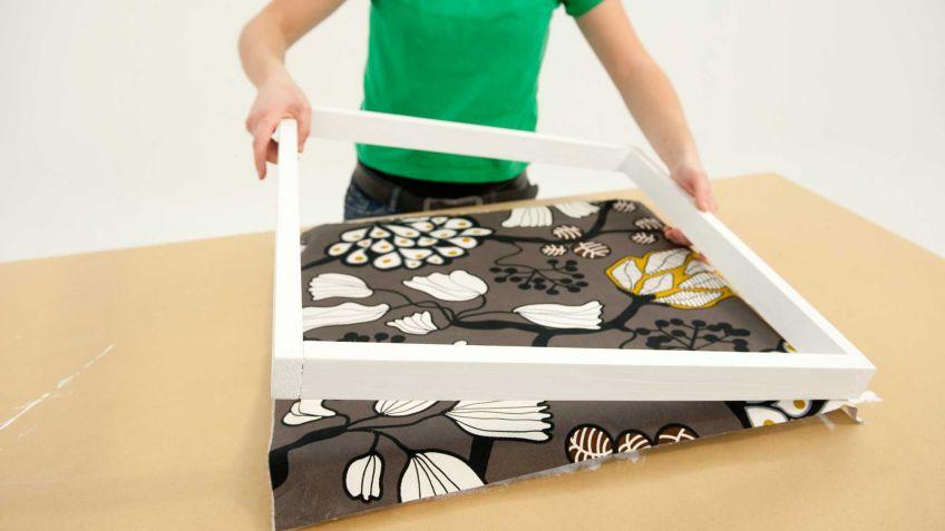 Construir un marco sencillo para un lienzo - Bricomanía