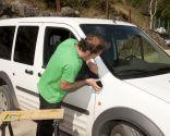 Reparar embellecedor del coche