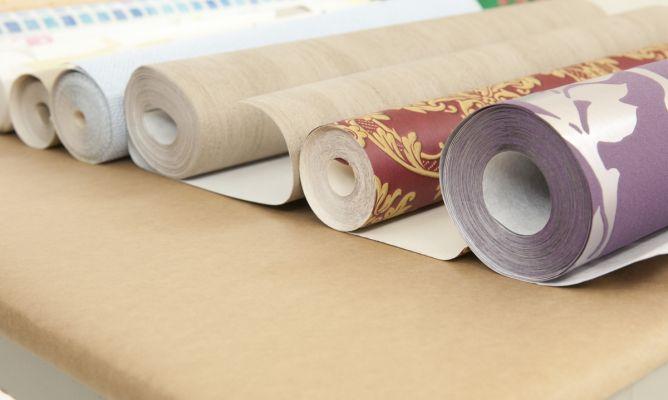 Tipos y usos del papel pintado bricoman a - Papel pintado brico depot ...