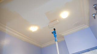 Pintar techo del baño