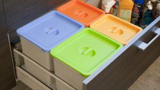 Adaptar papelera de reciclaje - Paso 9