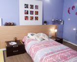 Cabezal de cama con revestimiento ecológico