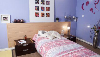 cabezal de cama con revestimiento ecolgico