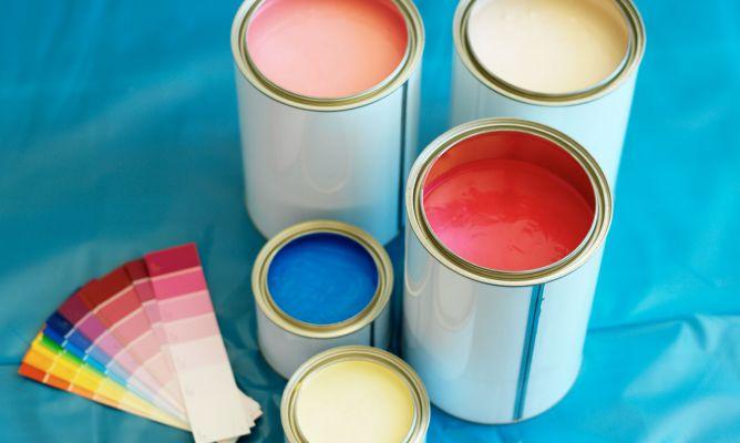 Tipos de pinturas para el hogar hogarmania - Tipos de pintura para pared ...