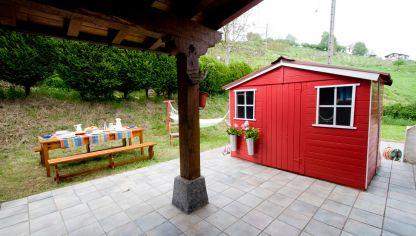 Jard n l dico y huerto urbano decogarden for Casetas de huerto