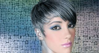 Tinte o mechas color plata