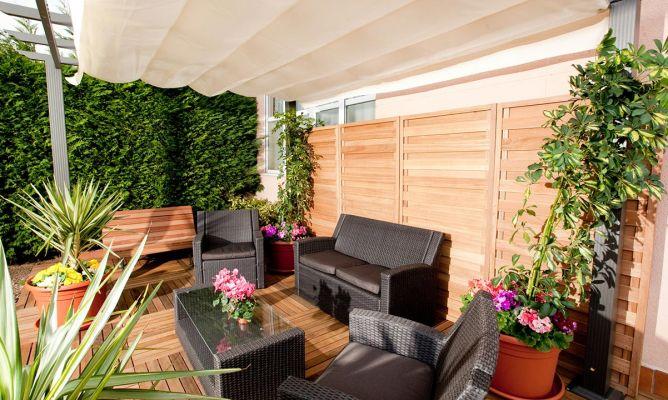 Decorar jard n decogarden - Decorar patios exteriores ...