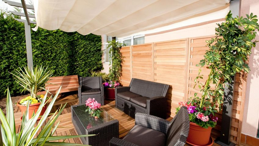 decorar jardn decogarden - Decorar Un Jardin