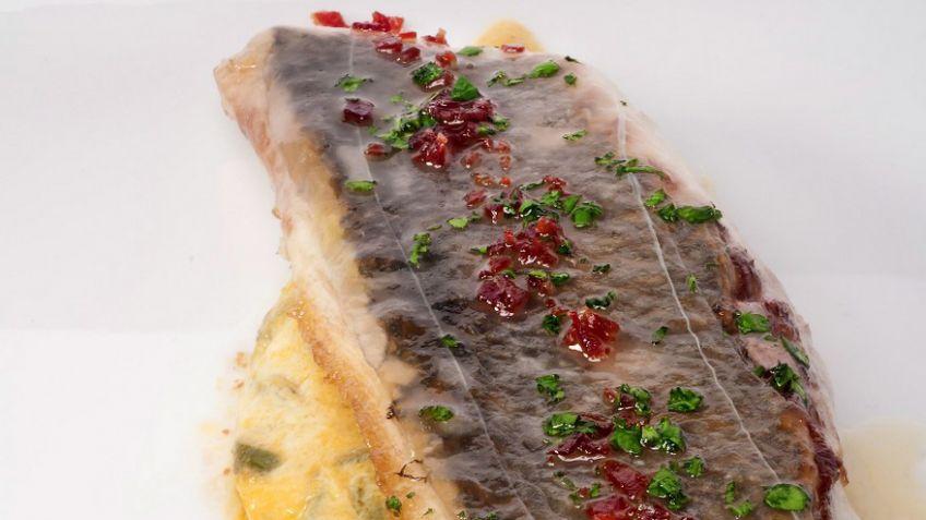 receta de dorada con salsa de tomate amarillo bruno oteiza rh hogarmania com