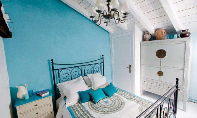 Dormitorio mediterr neo decogarden - Decoracion estilo mediterraneo ...
