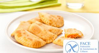 Empanadillas de at�n sin gluten