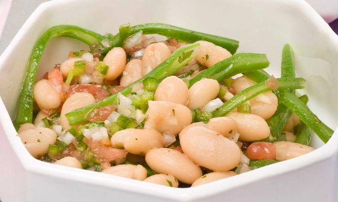 Receta de ensalada de alubias blancas bruno oteiza - Ensalada fria de judias blancas ...
