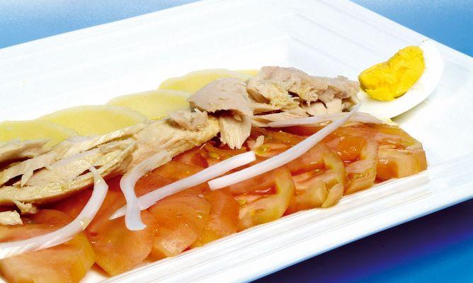 Receta De Ensalada De Patata Huevo Tomate Y Atún Karlos Arguiñano